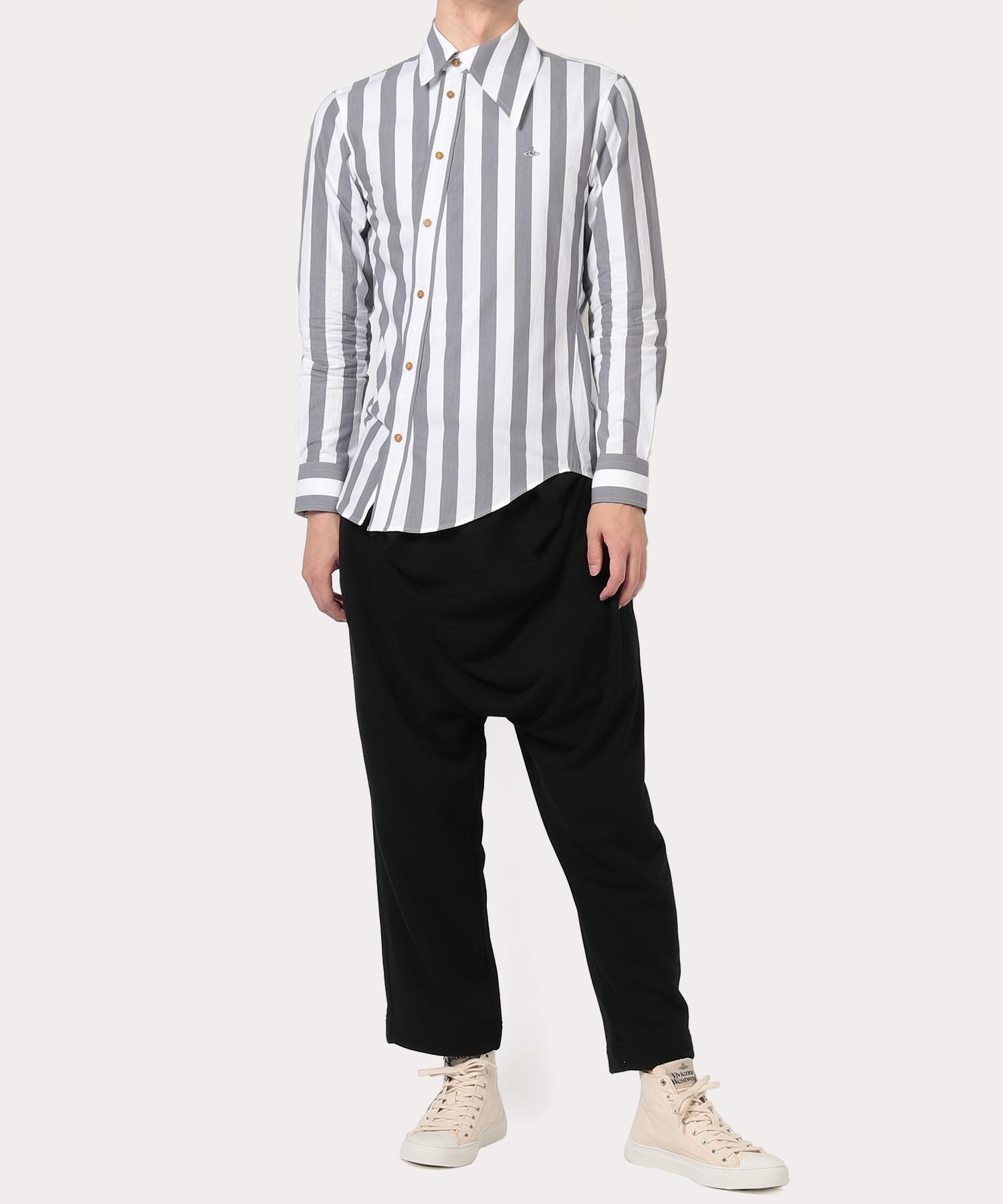 ブロックストライプ オジークラークシャツ