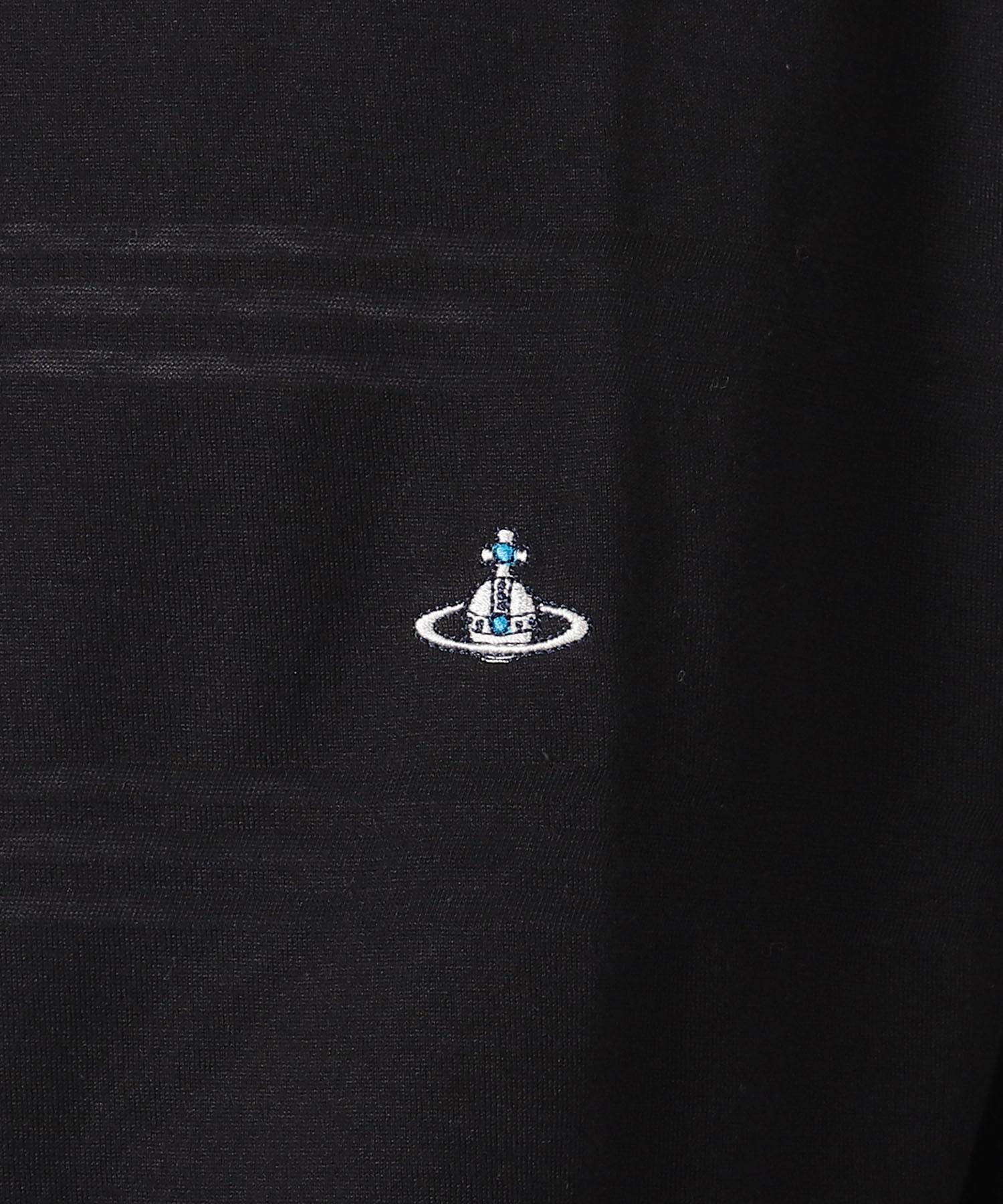 シャドーストライプ 長袖Tシャツ