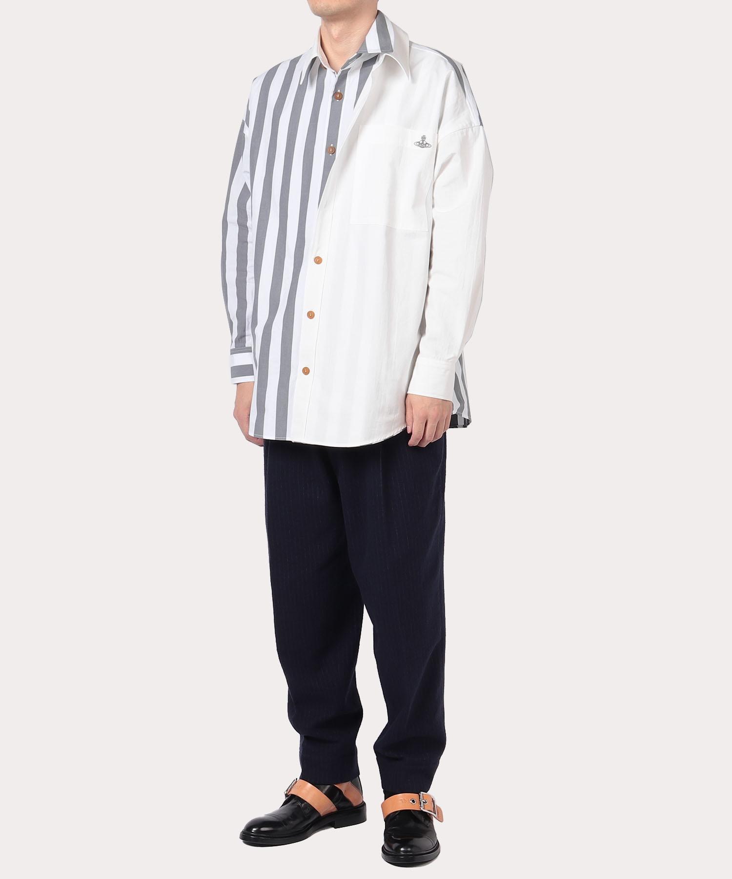 ブロックストライプ アントニオシャツ