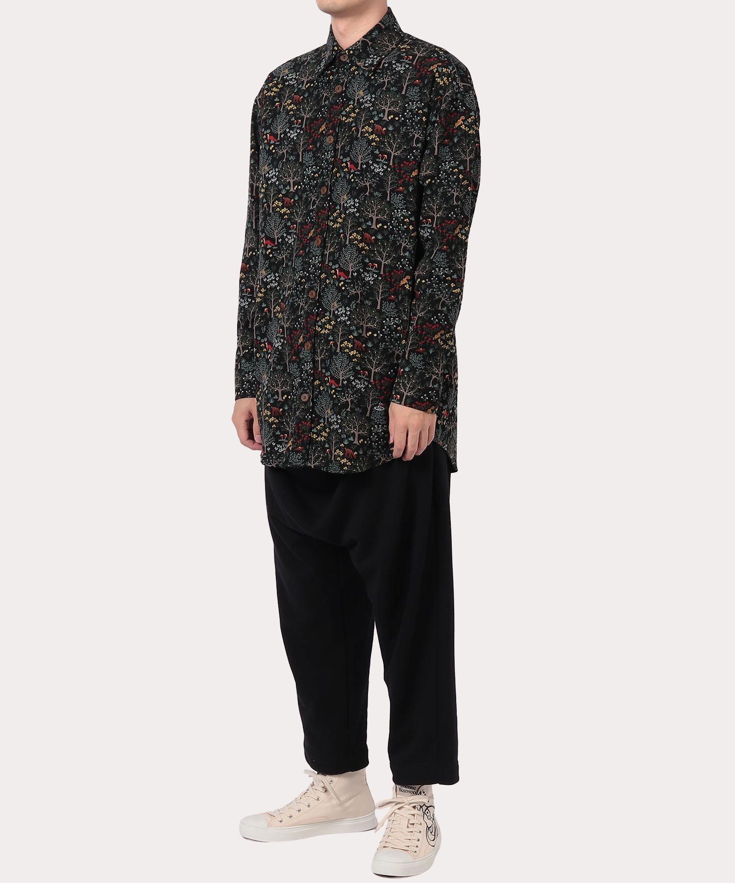 ファンシープリント ビッグシャツ