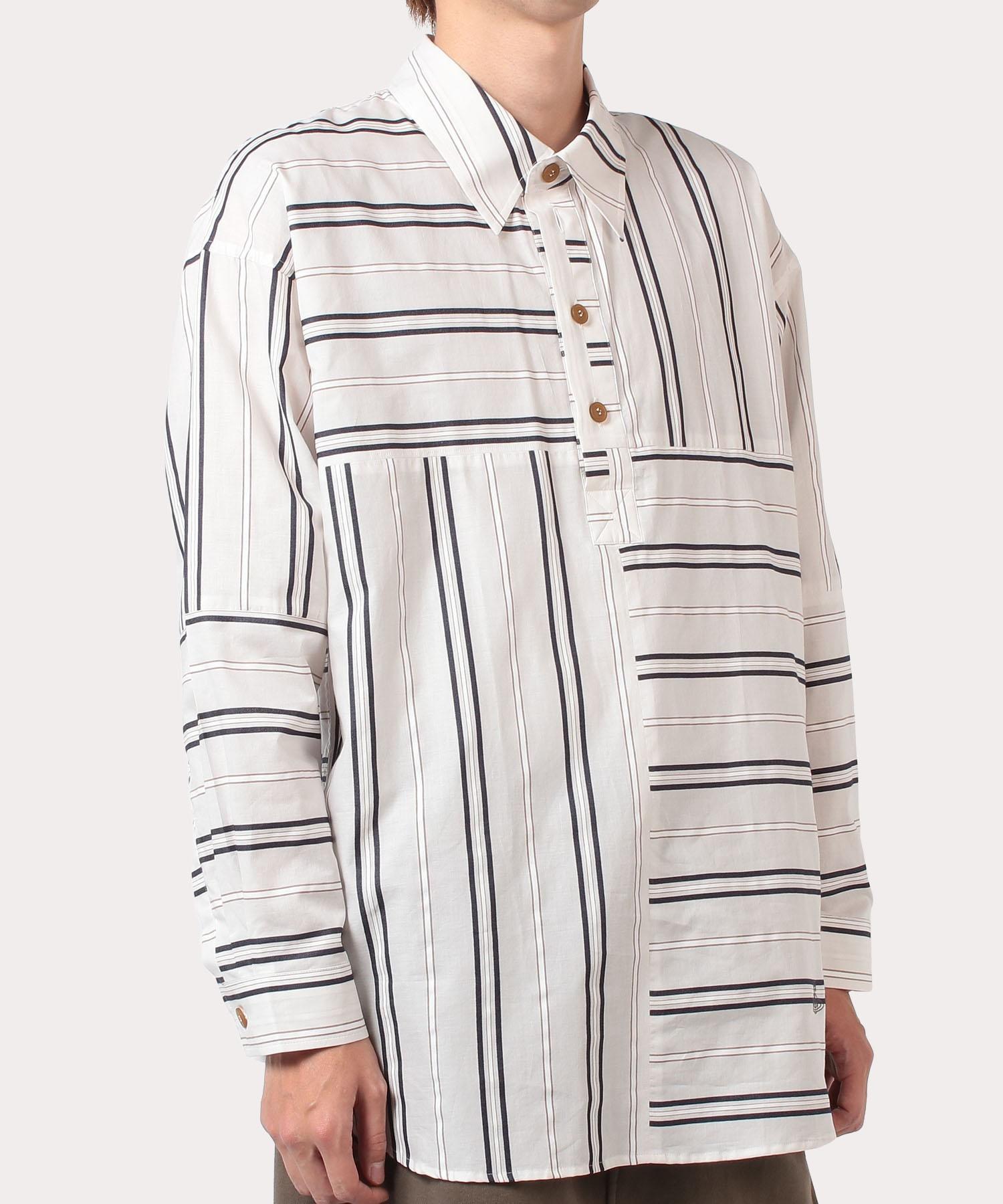マルチストライプ バクタシャツ