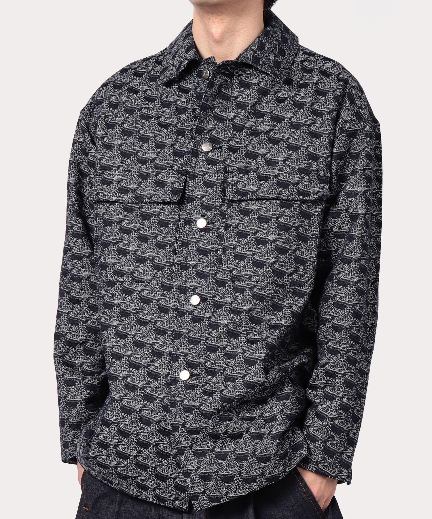 ORBリピート ジャカードユーティリティシャツ