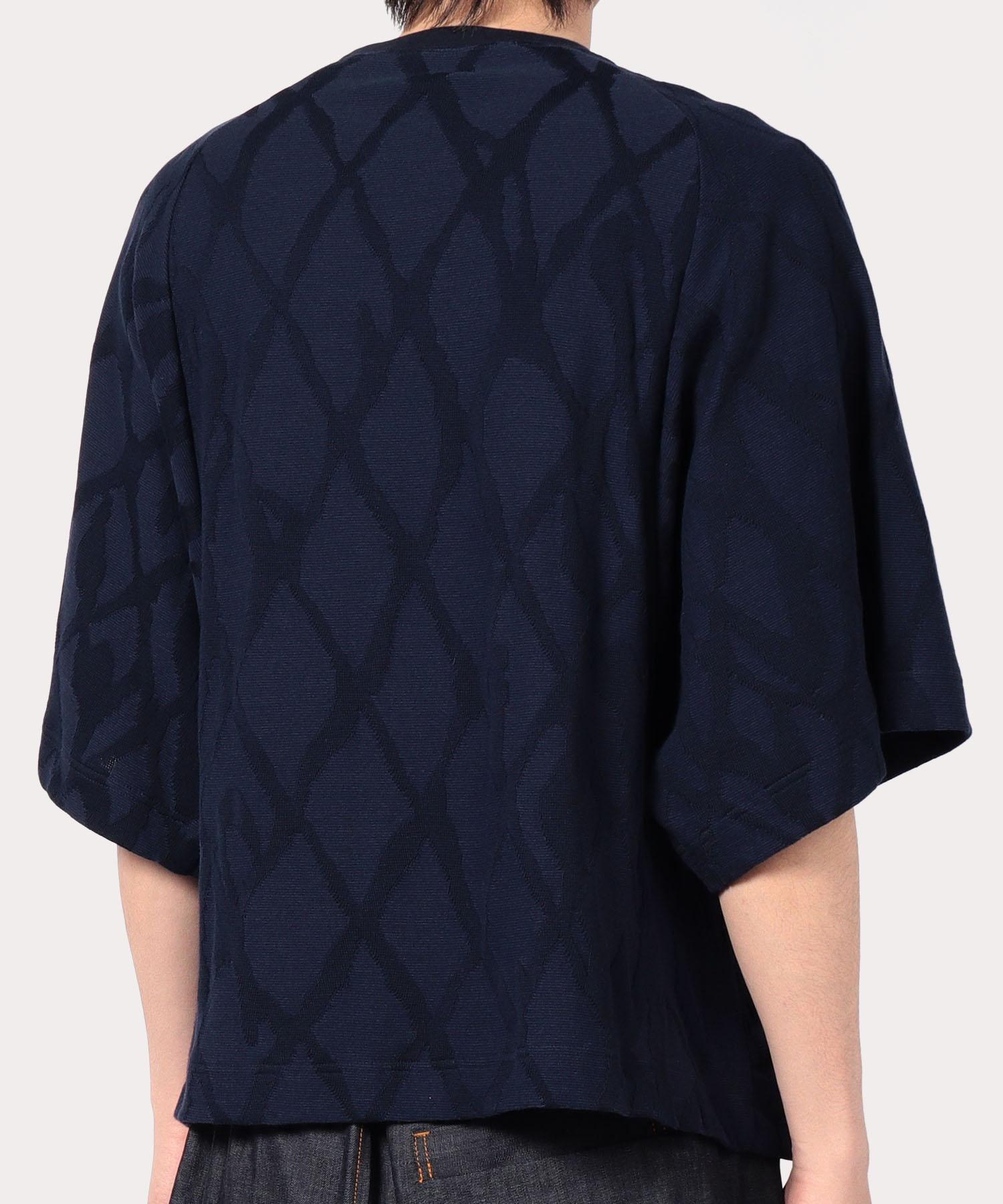 オンラインショップ限定 アーガイル フリーダムスリーブ半袖Tシャツ