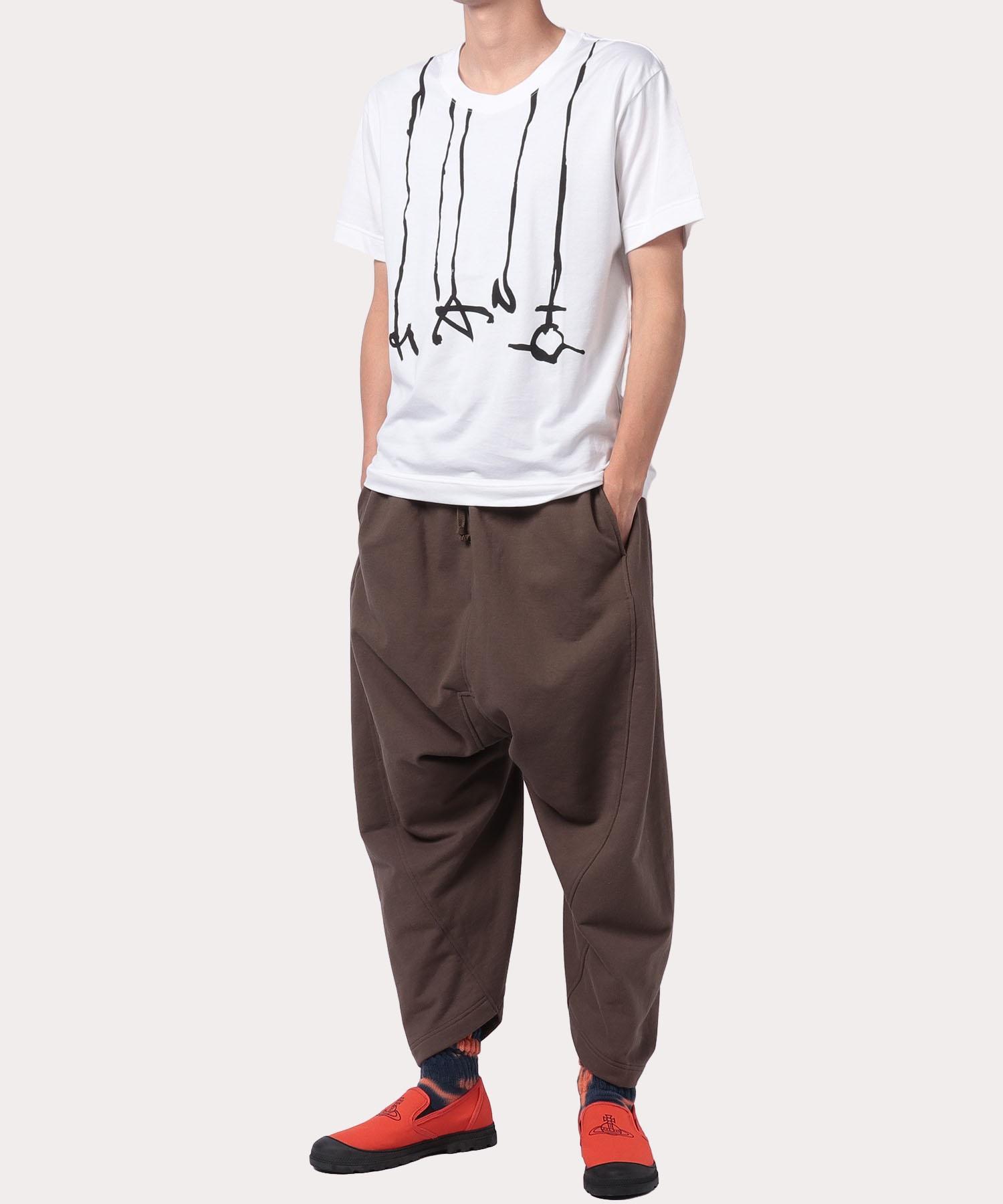 マン プリントドリップ リラックス半袖Tシャツ