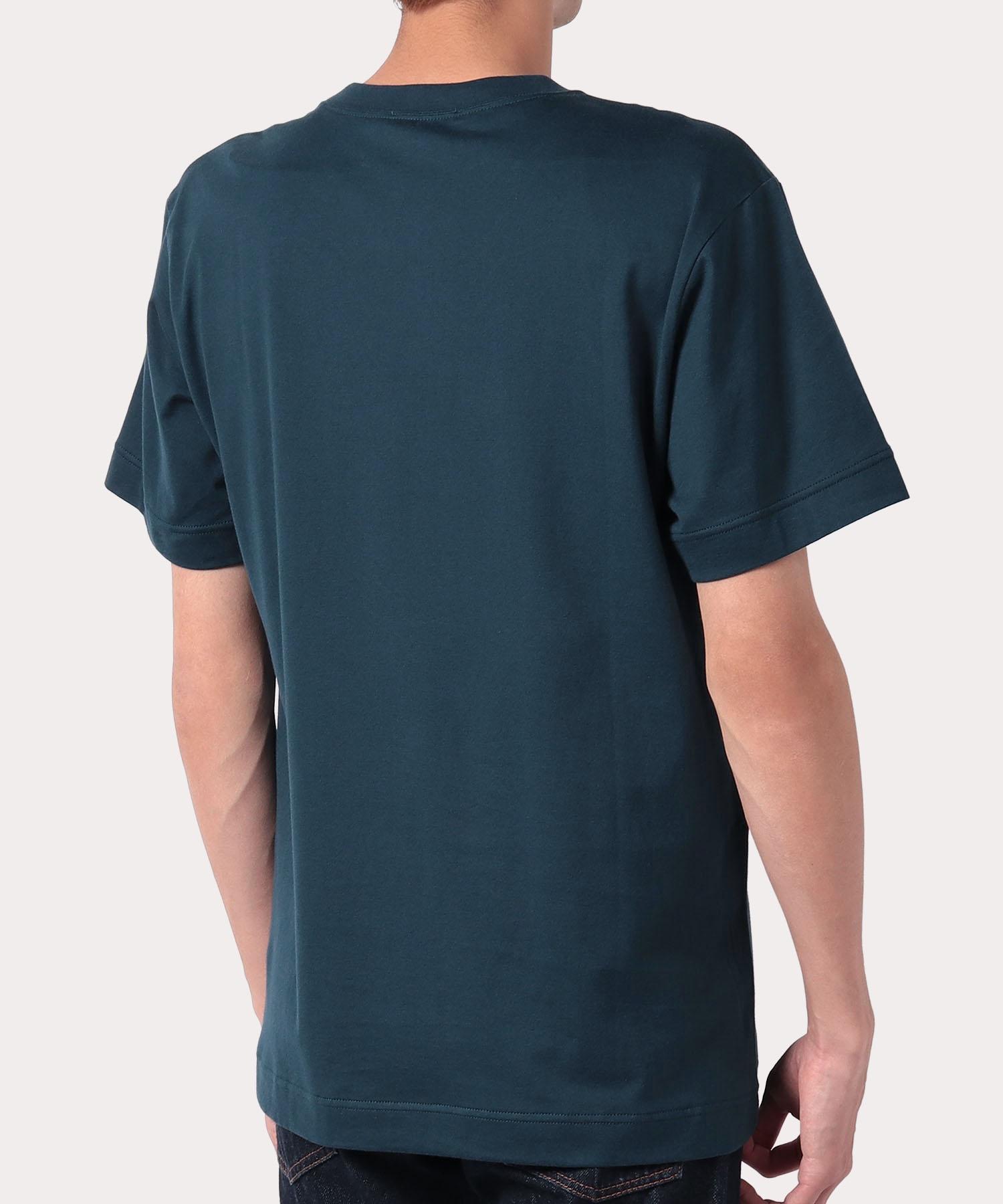 タグ リラックス半袖Tシャツ