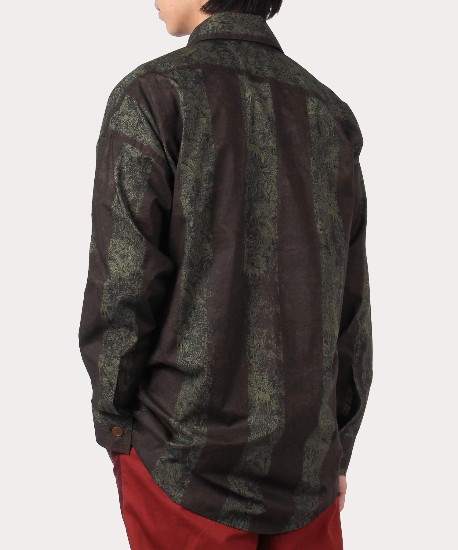 アニマルプロテクション ビッグオジークラークシャツ