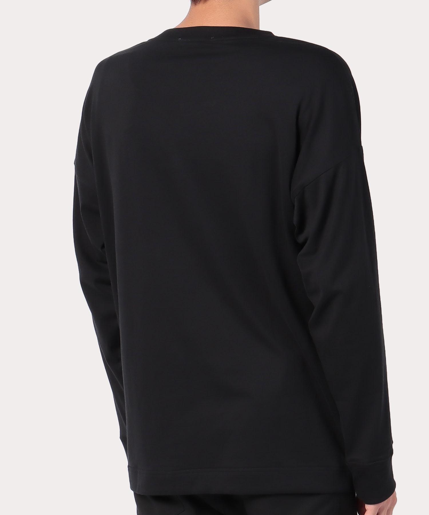 ワンポイントORB トライアングル長袖Tシャツ