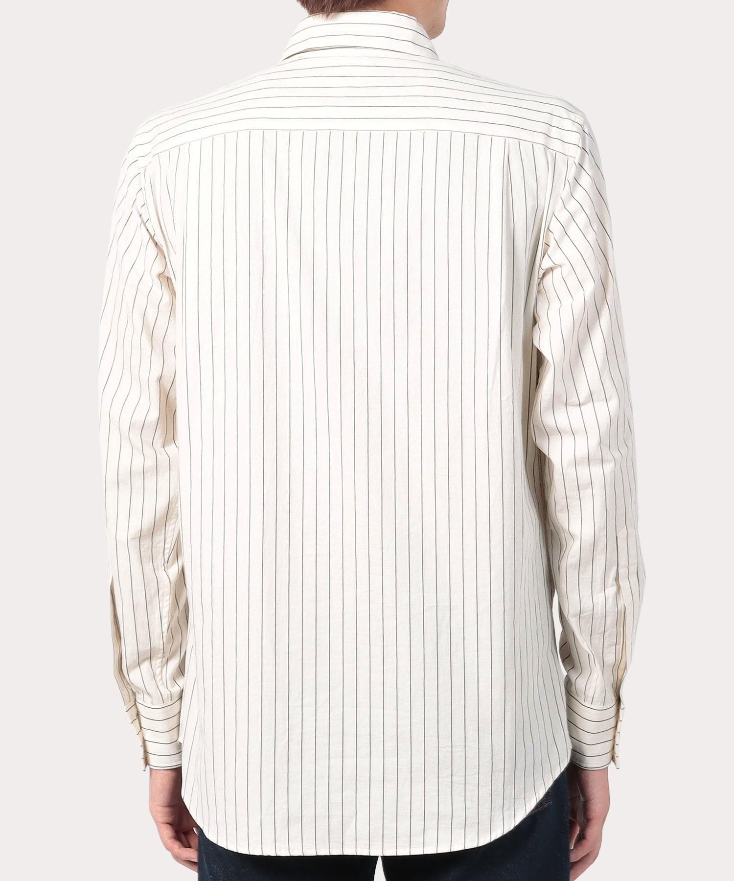 ストライプ スラッシュジョッキーシャツ