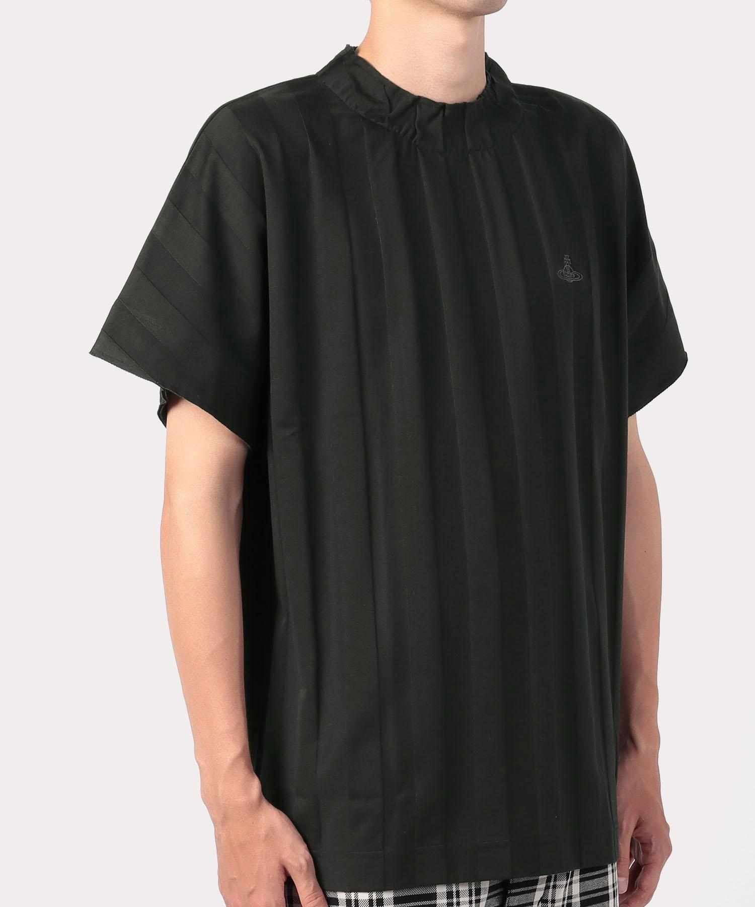 バンピーストライプ ヒドゥンリブTシャツ