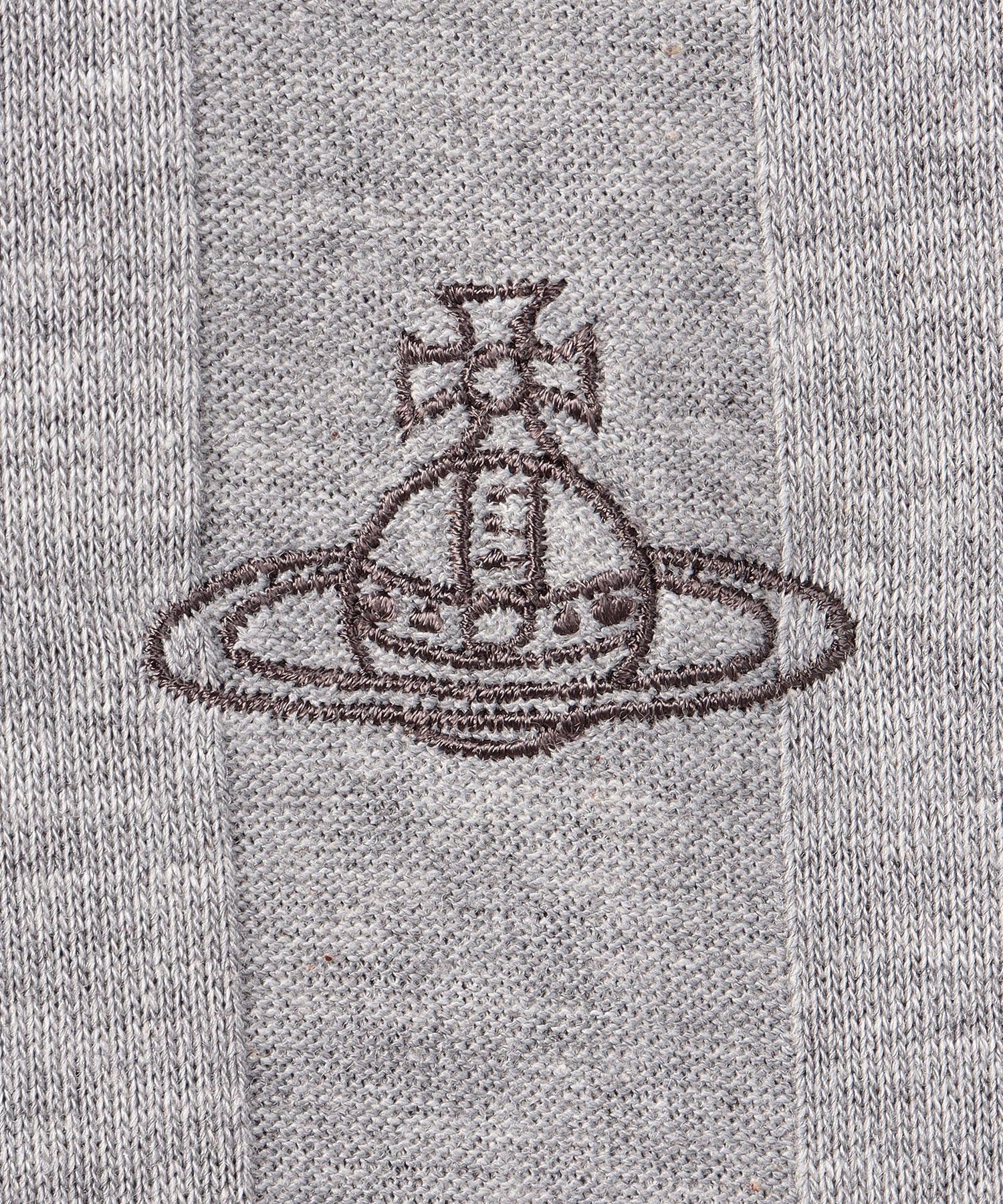 バンピーストライプ トライアングル長袖Tシャツ