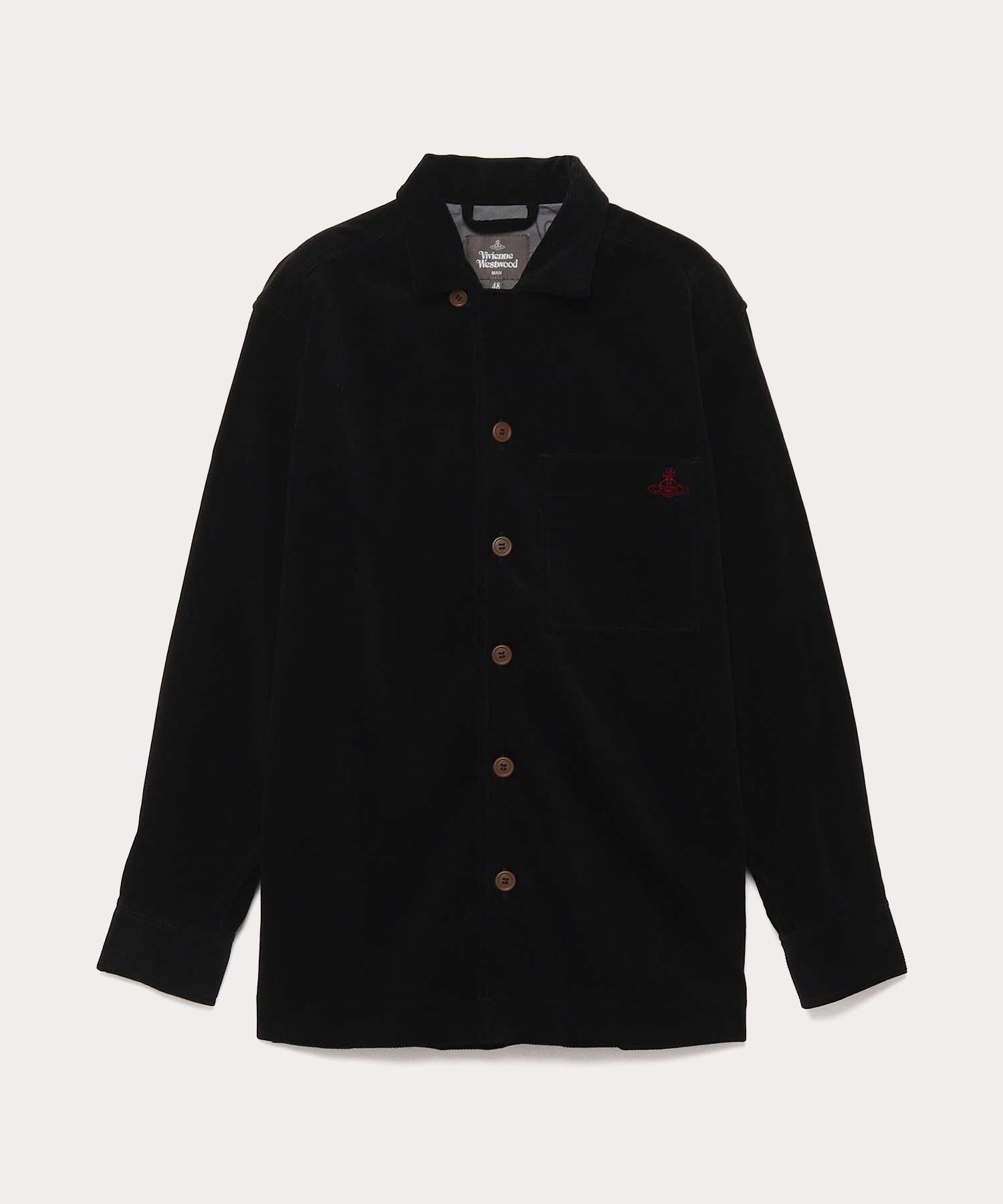 オンラインショップ限定 コーデュロイ オープンカラーシャツ