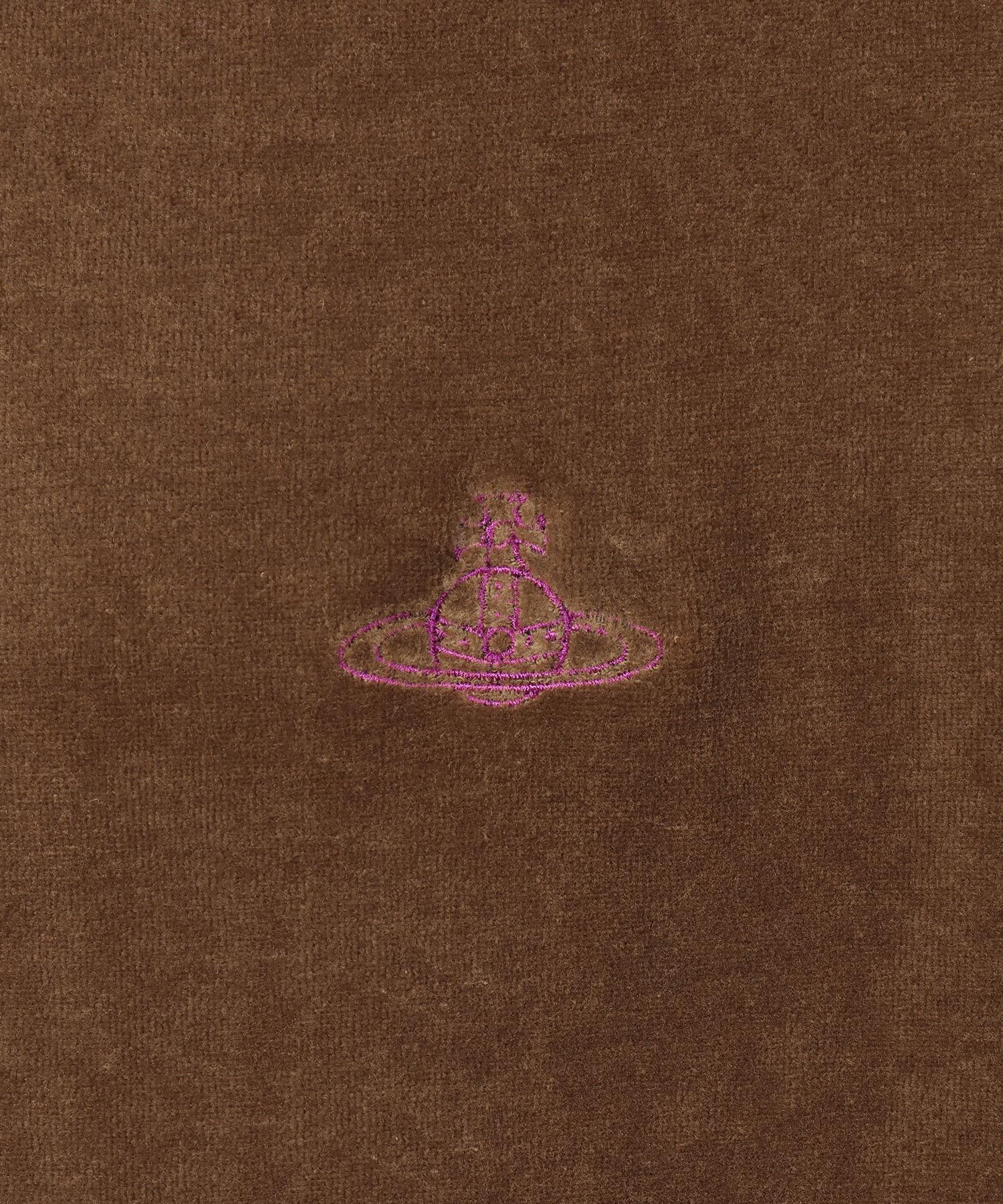 2トーンベロア トライアングル長袖Tシャツ