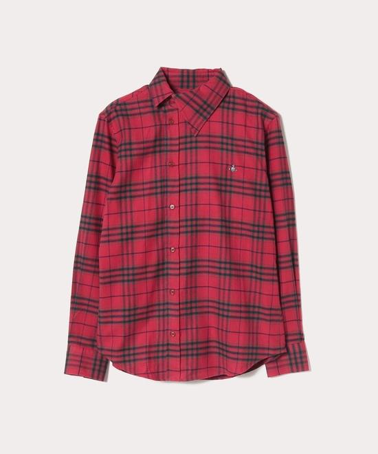 フランネルチェック オジークラークシャツ
