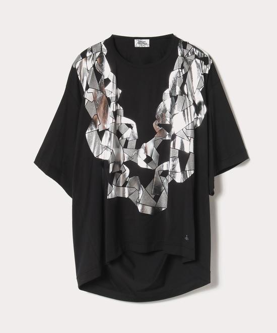 チェーンネックレス ビッグTシャツ