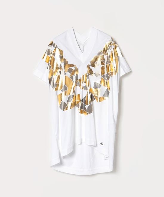 チェーンネックレス スポーツTシャツ