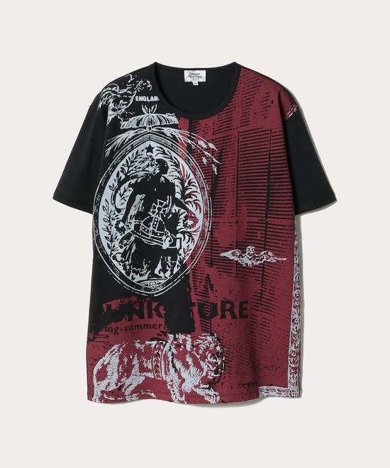 PUNKATURE リラックス半袖Tシャツ