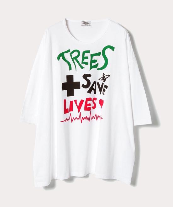 TREES SAVE LIVES ビッグTシャツ