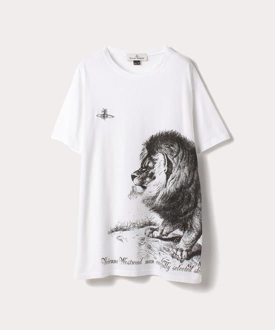 LION PRINT 半袖Tシャツ