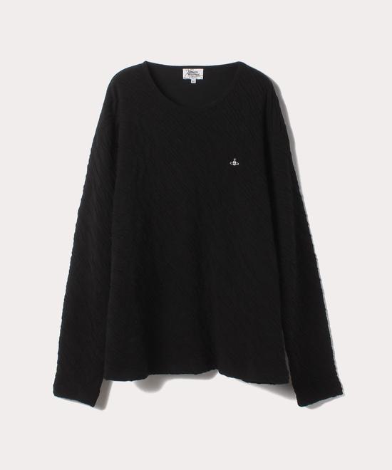 リンクル 長袖Tシャツ