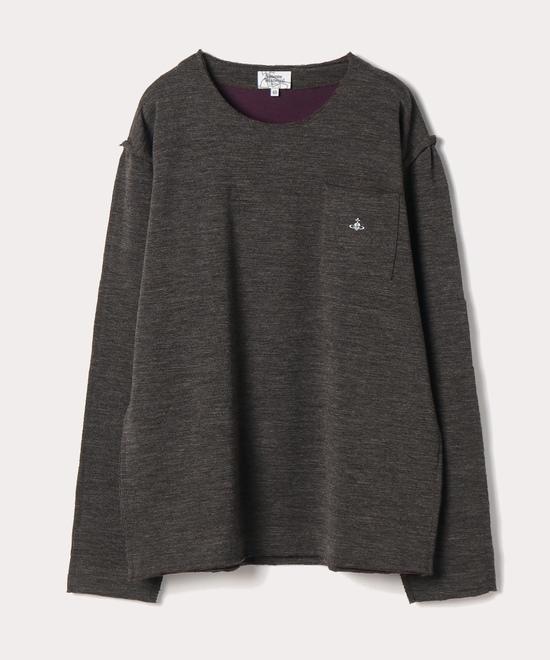 ワンポイントORB カットオフ長袖Tシャツ
