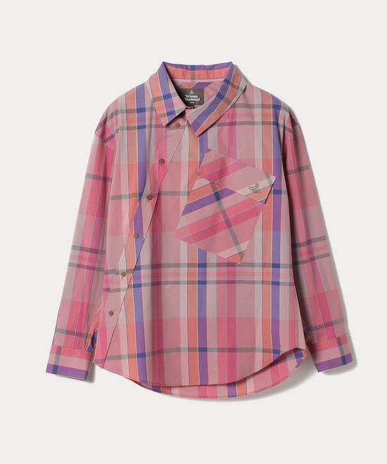 ビッグポケット マドラスチェックシャツ