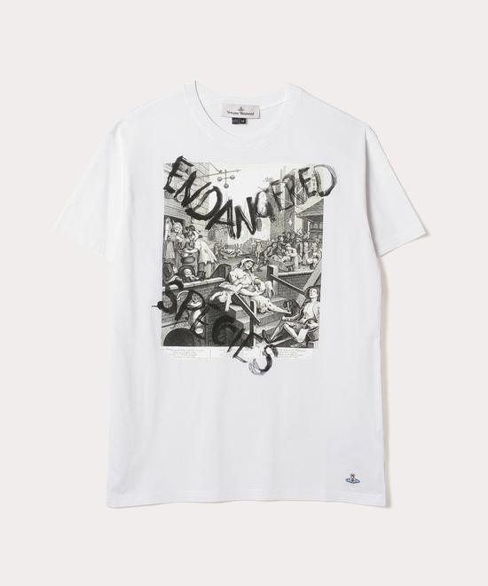 GIN LAN BOXY 半袖Tシャツ