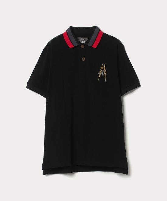 ラインORBライトニング 半袖ポロシャツ