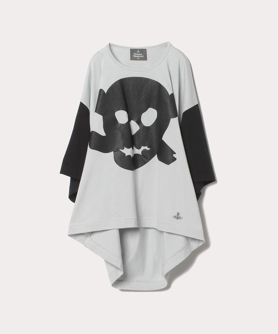 スカルプリント ビッグ半袖Tシャツ