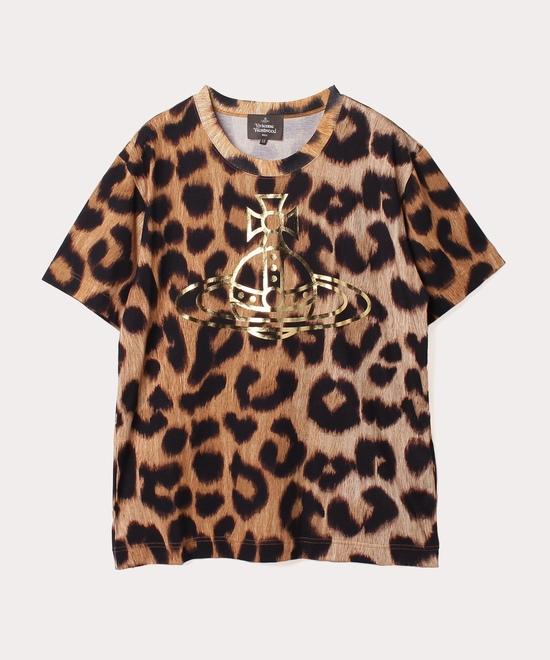 レオパード 半袖Tシャツ