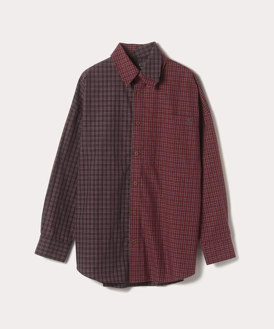 マイクロチェック アントニオシャツ