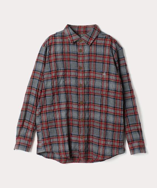 チェック リラックスシャツ