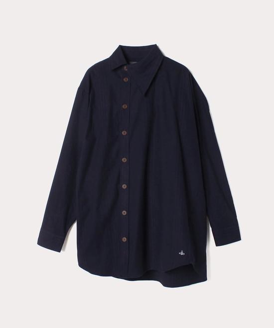 シンストライプ ビッグオジークラークシャツ
