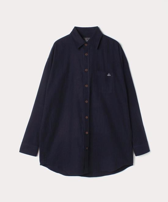 シンストライプ ビッグ クラシックシャツ
