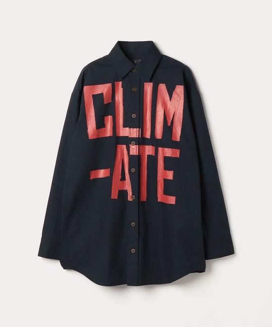 CLIMATE REVOLUTION ビッグシャツ