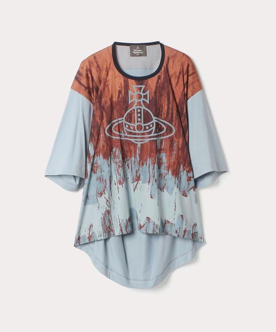 ブラッシュストロークORB ビッグTシャツ