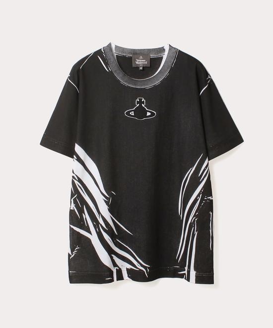 ORBパッチ フォールドシャドープリント 半袖Tシャツ