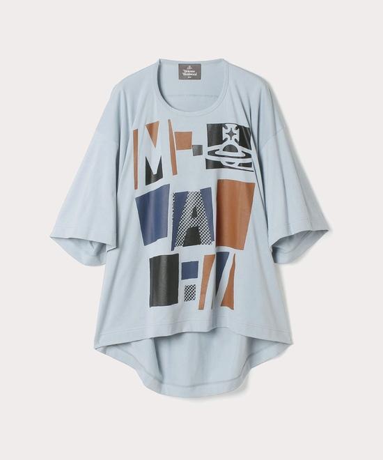 マンプリント ビッグTシャツ
