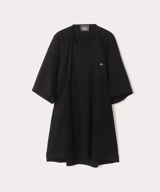 ワンポイントORB ビッグロング半袖Tシャツ