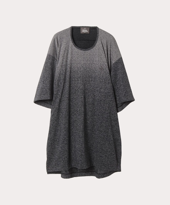 グラデーション ビッグロング半袖Tシャツ