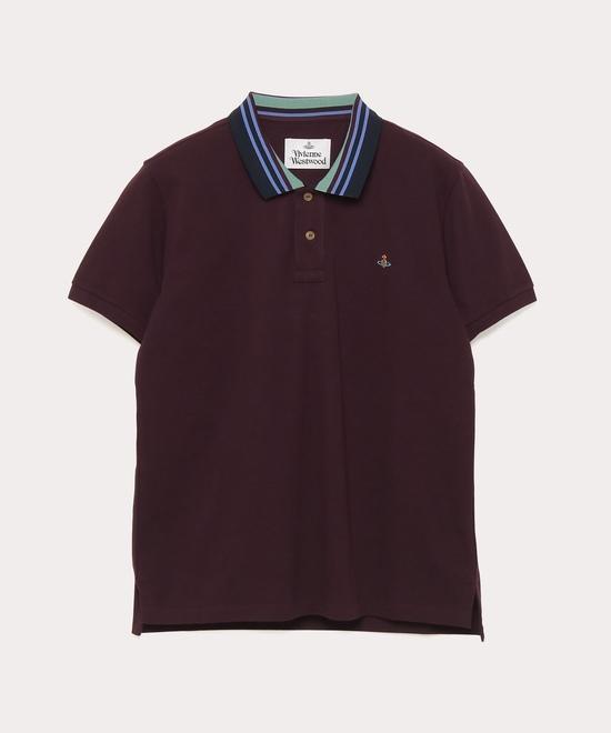 STRIPE COLLAR CLASSIC ポロシャツ