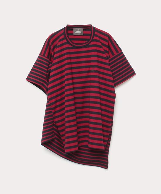 マルチストライプ マテロ半袖Tシャツ