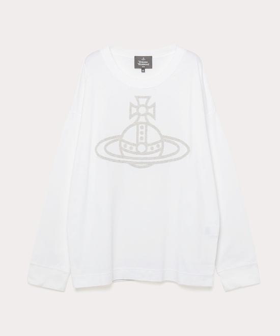 ORNAMENTAL ORB トライアングル長袖Tシャツ