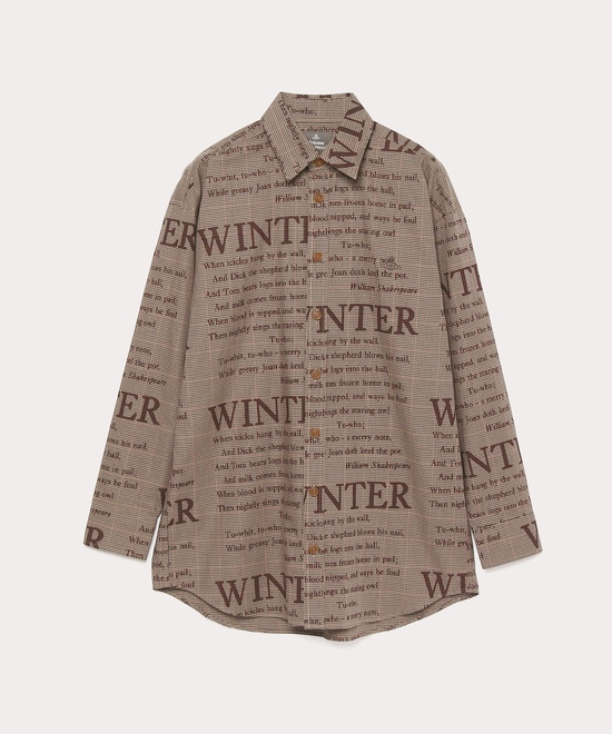 WINTERチェック ビッグクラシックシャツ