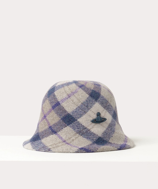 HARRISTWEED CHECK バケットハット