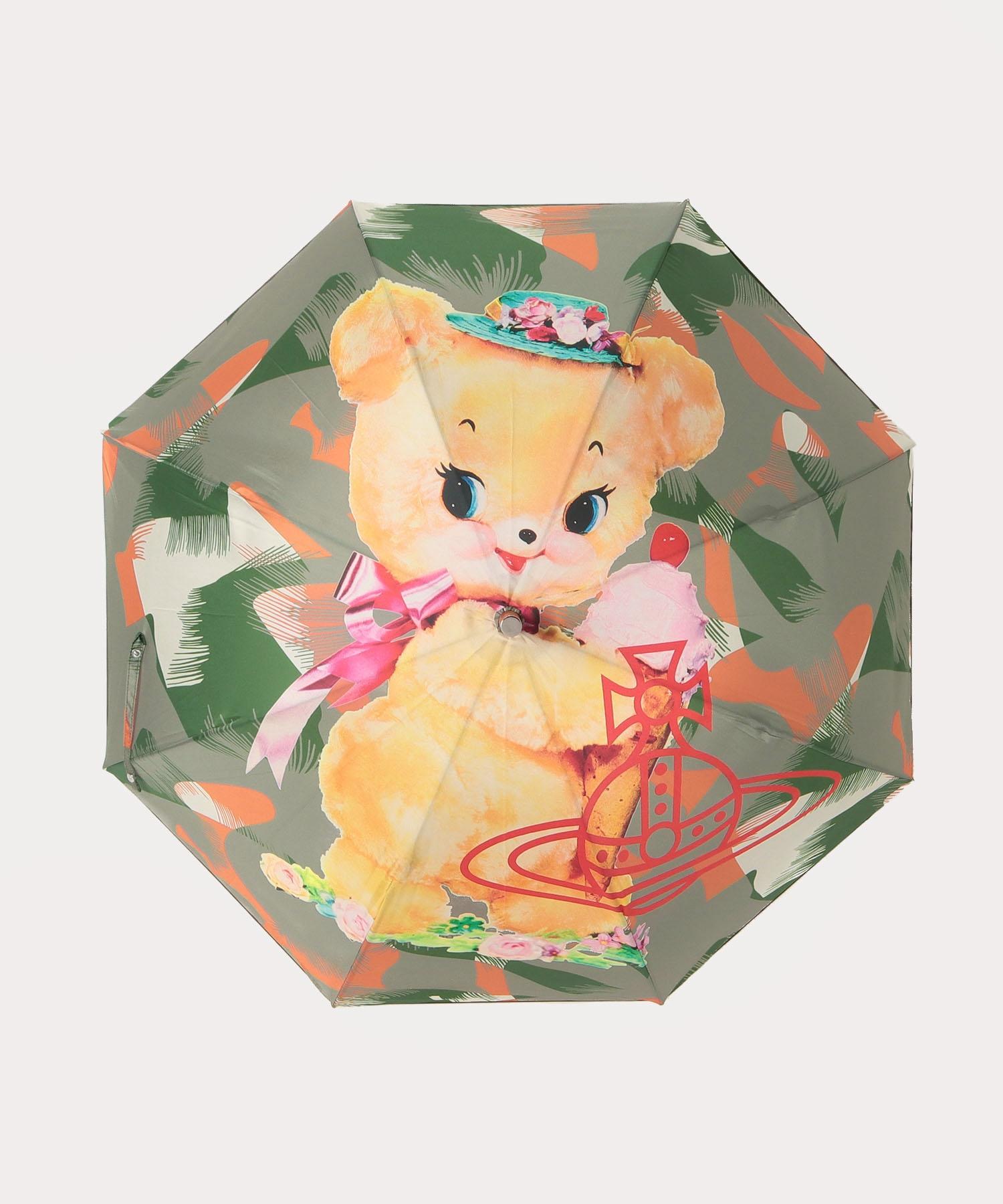 クリーピーベア 一枚張り長傘