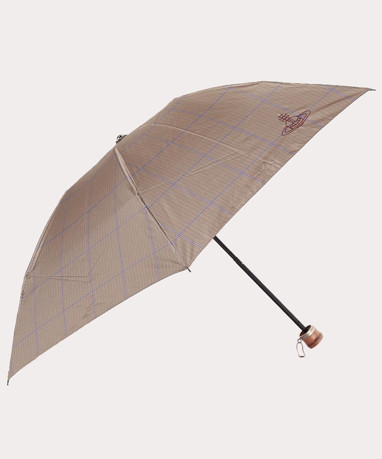 チェック ミニ傘
