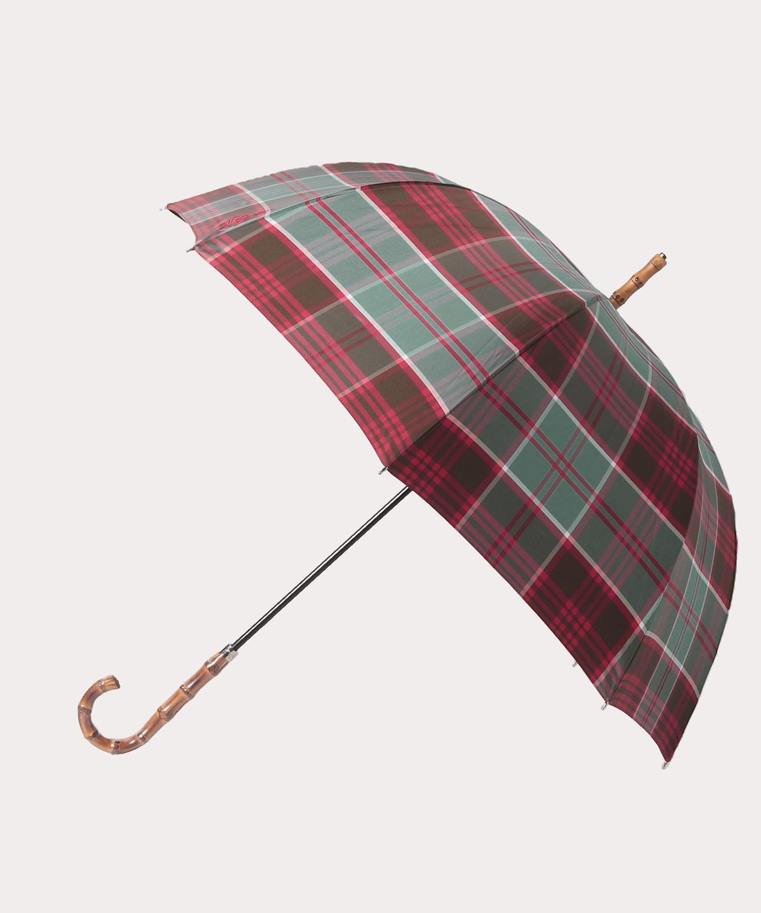 チェック 長傘