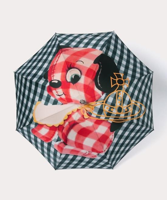 ギンガムパピー 一枚張り長傘