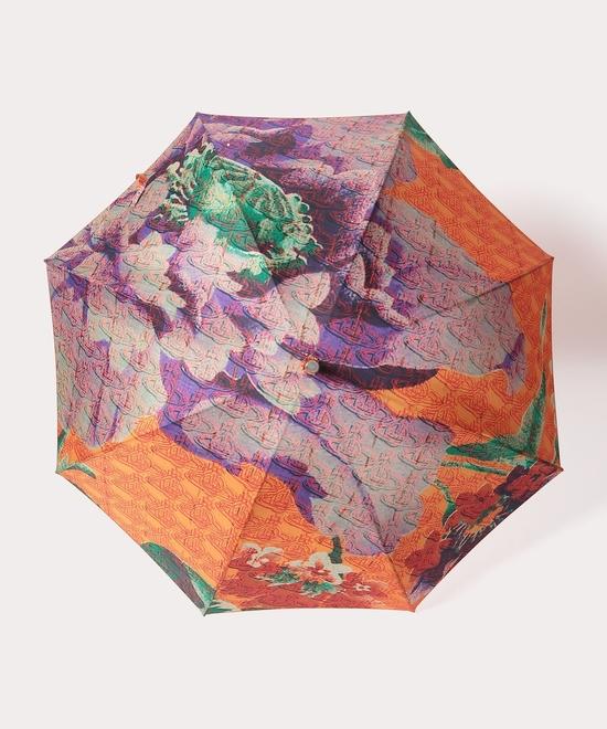 ロシアンテキスタイルフローラル 一枚張り傘