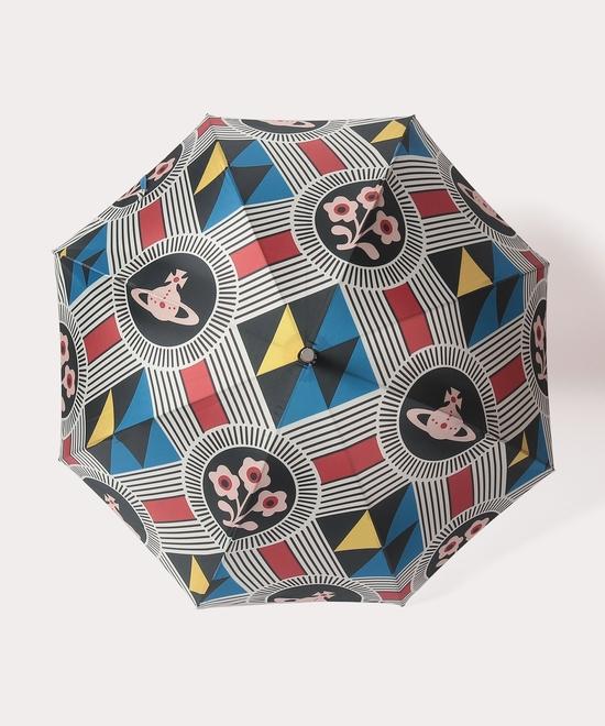 ジオメトリックORB 一枚張り傘